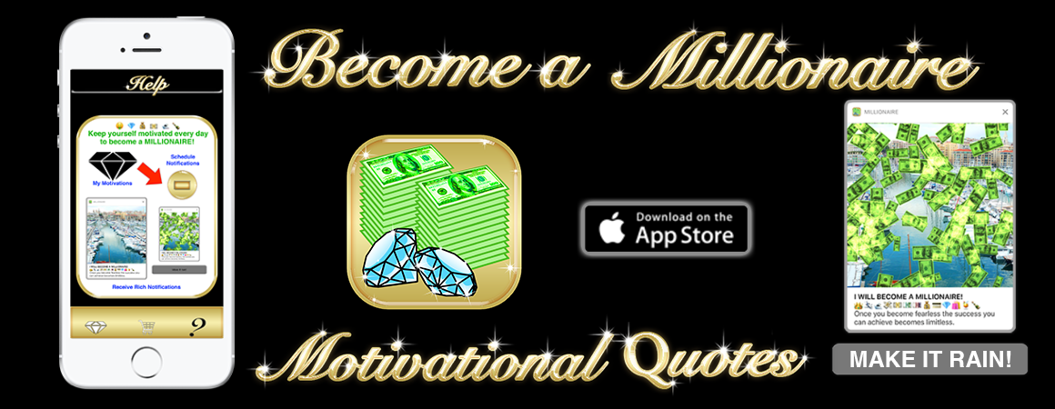 become a millionaire motivational quotes mobile app for ios